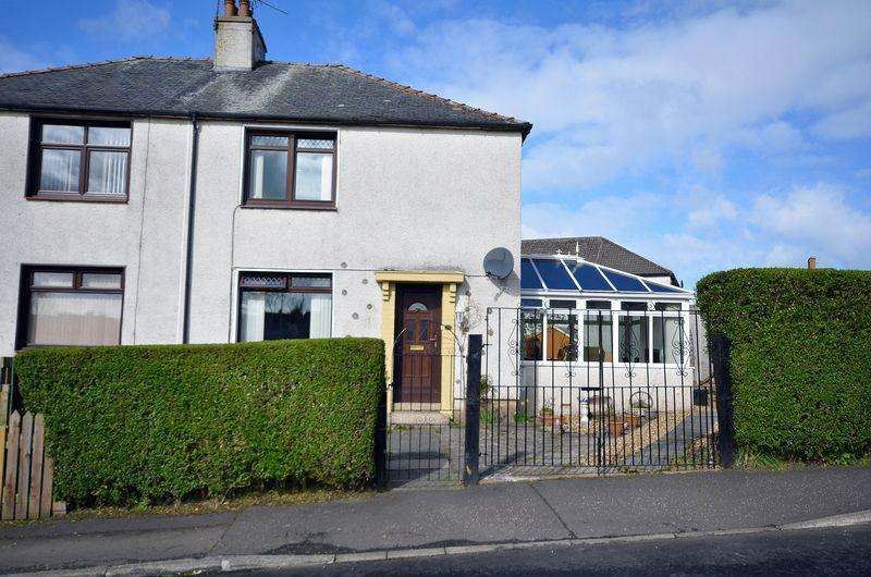 3 Bedrooms Semi-detached Villa House for sale in 35 Well Road, Auchinleck KA18 2JZ