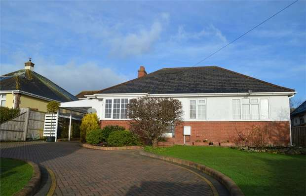3 Bedrooms Detached Bungalow for sale in 111 St Johns Road, EXMOUTH, Devon