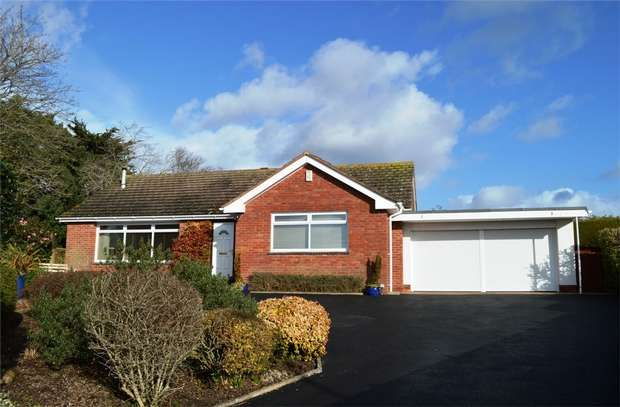3 Bedrooms Detached Bungalow for sale in 21 Dunsford Close, EXMOUTH, Devon
