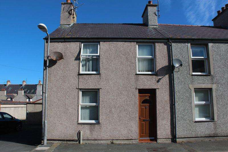 3 Bedrooms End Of Terrace House for sale in Vulcan Street, Holyhead