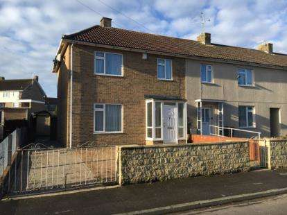 3 Bedrooms End Of Terrace House for sale in Capgrave Crescent, Bristol, Somerset