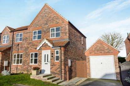 3 Bedrooms Semi Detached House for sale in Baggaley Drive, Horncastle, Lincolnshire, .