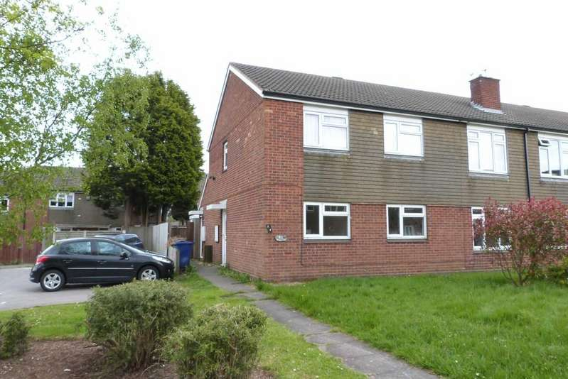 2 Bedrooms Flat for sale in Barnard Way, Cannock