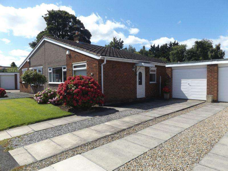2 Bedrooms Semi Detached Bungalow for sale in Grisedale Crescent, Stockton-On-Tees