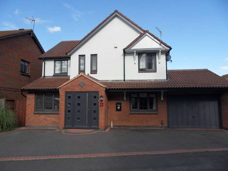 4 Bedrooms Detached House for sale in Robinson Way, Burbage