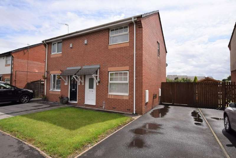 2 Bedrooms Town House for sale in Bourne Gardens, Peasley Cross, St. Helens