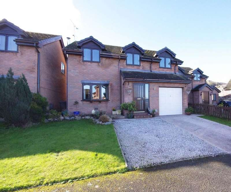 4 Bedrooms Detached House for sale in Llys Owen, Gronant