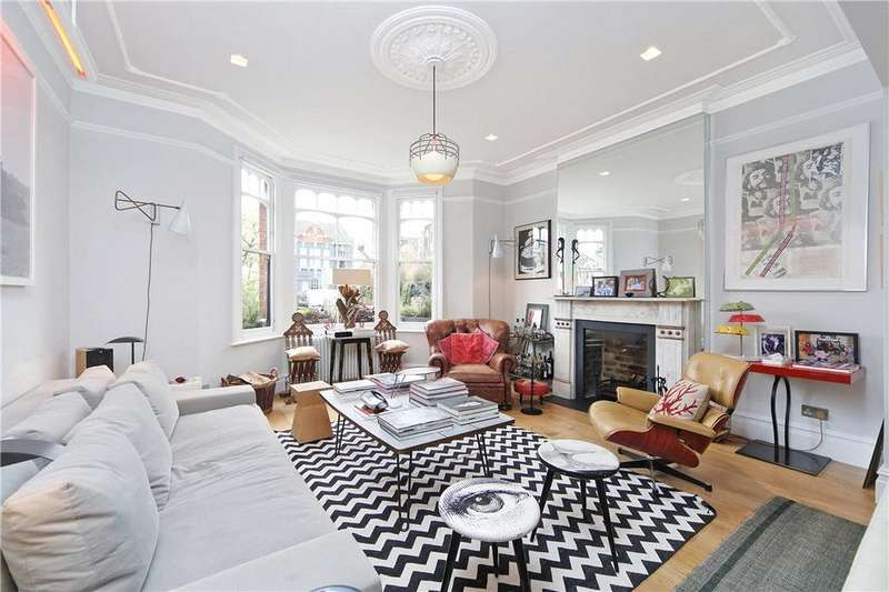 3 Bedrooms Semi Detached House for sale in Chevening Road, Queen's Park, London, NW6