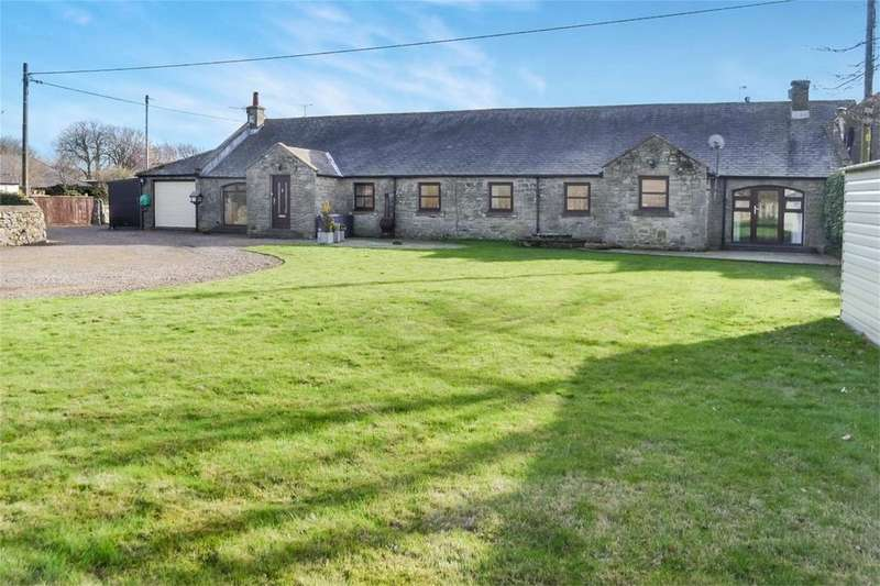 4 Bedrooms Semi Detached Bungalow for sale in 1-2 The Old Barn, Branton, ALNWICK, Northumberland