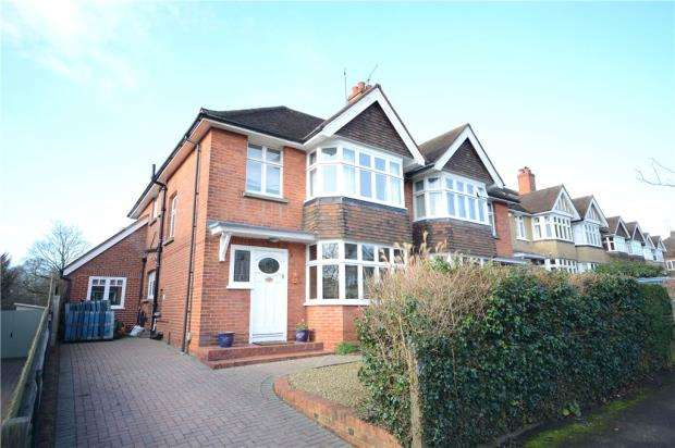 4 Bedrooms Semi Detached House for sale in Balmore Drive, Caversham, Reading