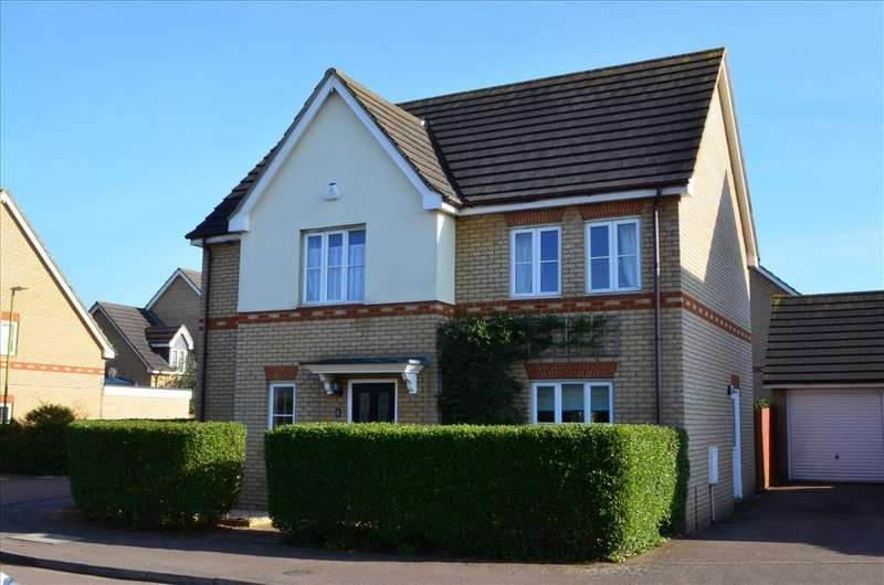 4 Bedrooms Detached House for sale in Titchmarsh Close, ROYSTON, SG8