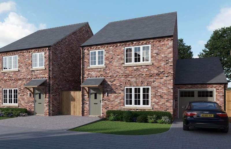 4 Bedrooms Detached House for sale in The Laurels, Church Fenton, York