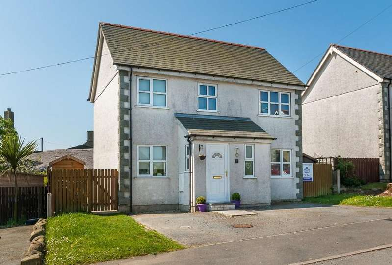 3 Bedrooms Detached House for sale in Llain Fain, Llanaelhaearn, North Wales