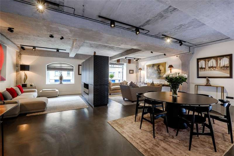 3 Bedrooms Flat for sale in Ransomes Dock, 35-37 Parkgate Road, Battersea, London, SW11