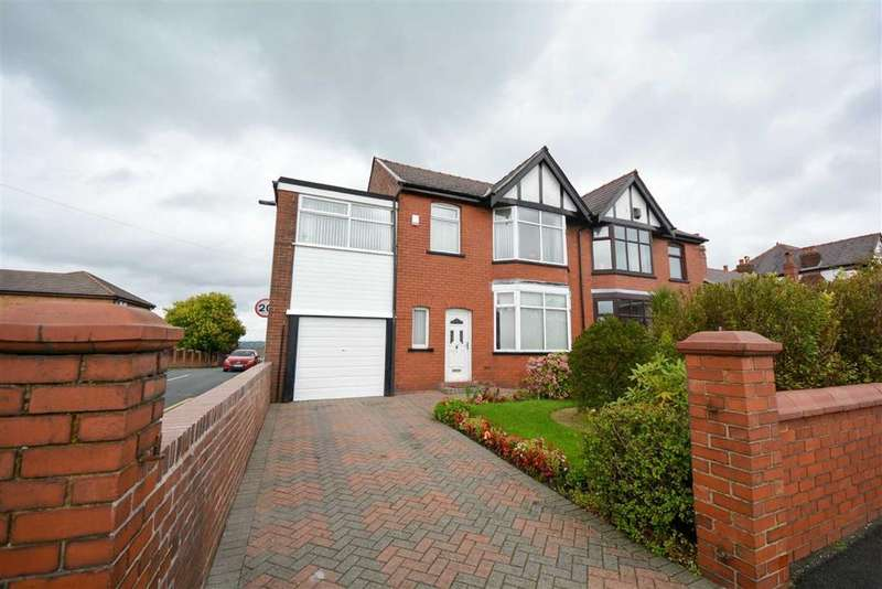 4 Bedrooms Semi Detached House for sale in Orrell Road, Orrell, Wigan, WN5
