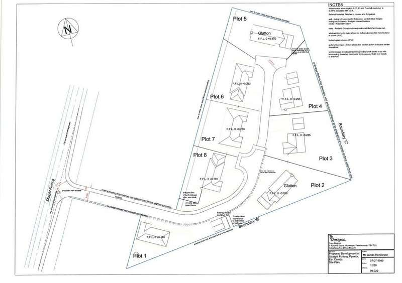 Land Commercial for sale in Straight Furlong, Pymoor