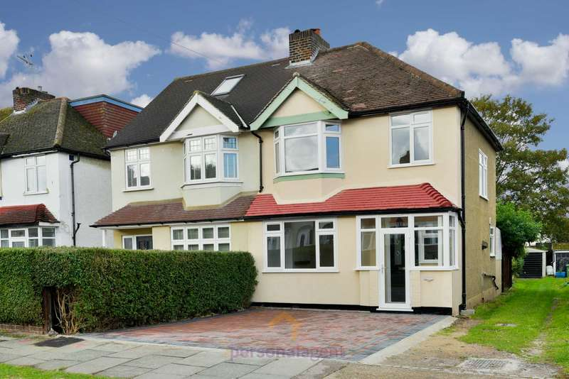 3 Bedrooms Semi Detached House for rent in Station Avenue, Epsom