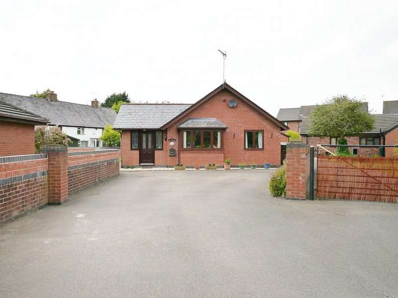 3 Bedrooms Detached Bungalow for sale in Brambles, Tarporley, CW6 9UR