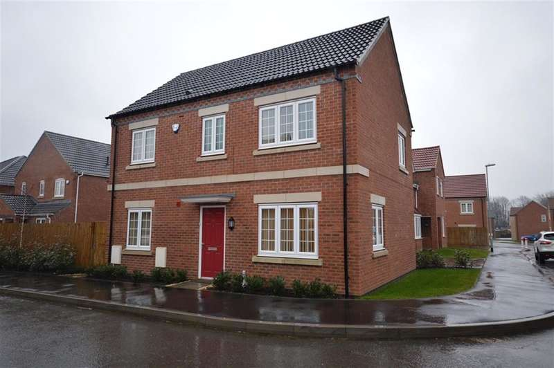 4 Bedrooms Detached House for sale in Tom Stimpson Way, Sutton-in-Ashfield, Nottinghamshire, NG17 4PN