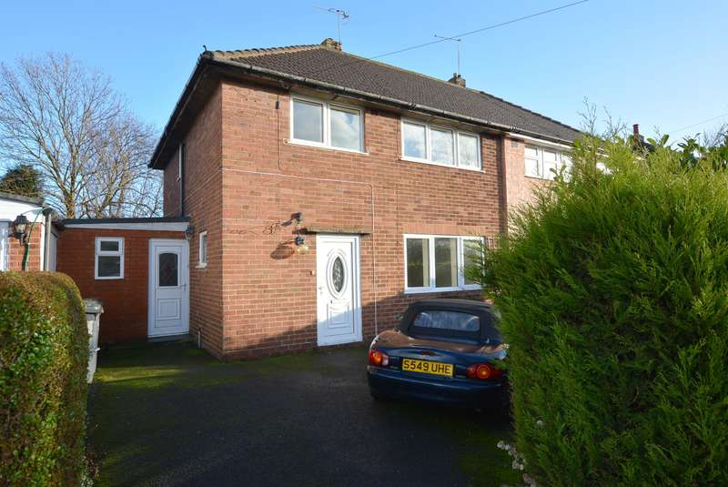 3 Bedrooms Semi Detached House for sale in Adlington Avenue, Wingerworth, Chesterfield, S42 6NQ