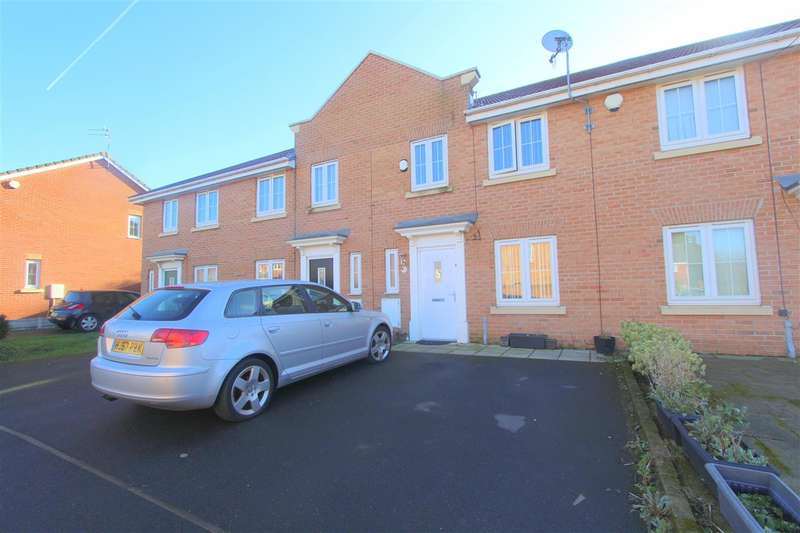 3 Bedrooms Town House for sale in Marnell Close, Vauxhall, Liverpool