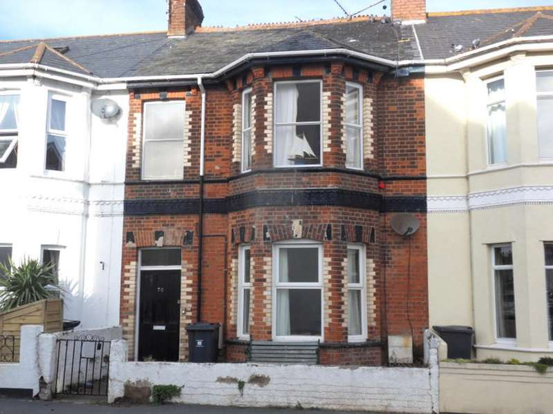 3 Bedrooms Maisonette Flat for sale in Victoria Road, Exmouth