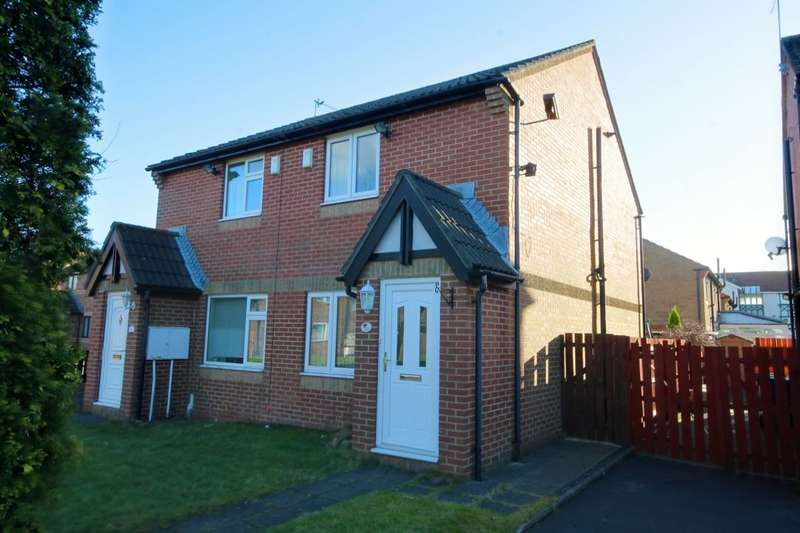 2 Bedrooms Semi Detached House for sale in Mortimer Avenue, Newbiggin Hall, Newcastle Upon Tyne, NE5