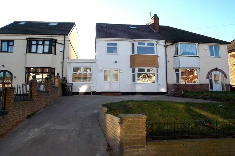 5 Bedrooms Semi Detached House for sale in Manor Road, Stechford, Birmingham, B33