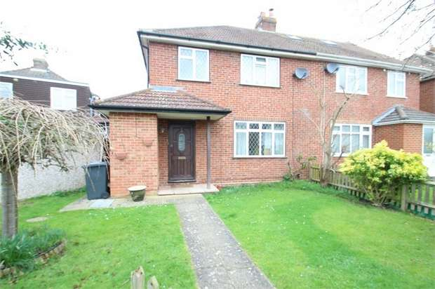 3 Bedrooms Semi Detached House for sale in Saffron Platt, GUILDFORD, Surrey