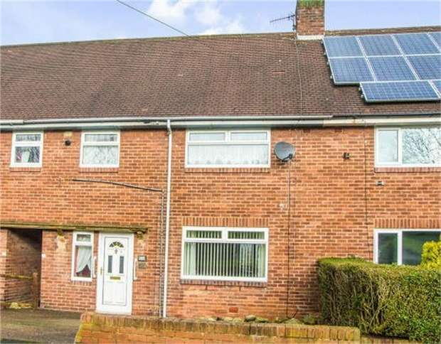3 Bedrooms Terraced House for sale in Redwell Road, Prudhoe, Northumberland