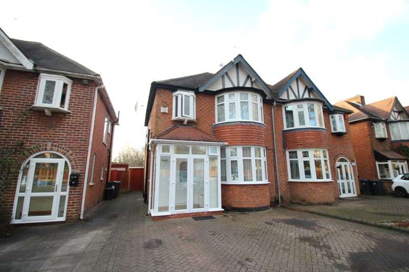 3 Bedrooms Semi Detached House for sale in Sarehole Road, Hall Green, Birmingham