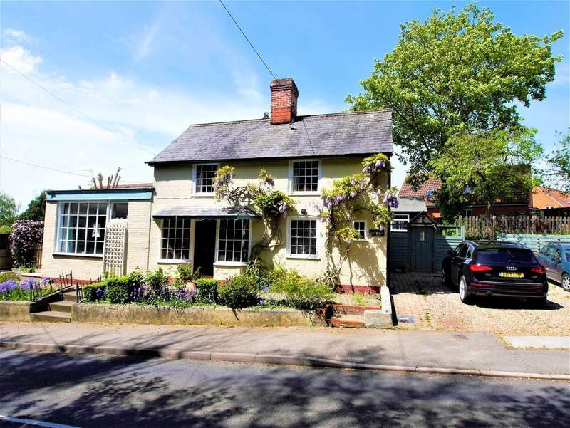 3 Bedrooms Detached House for sale in Hill House, The Causeway, Hitcham, Ipswich, Suffolk, IP7 7NF