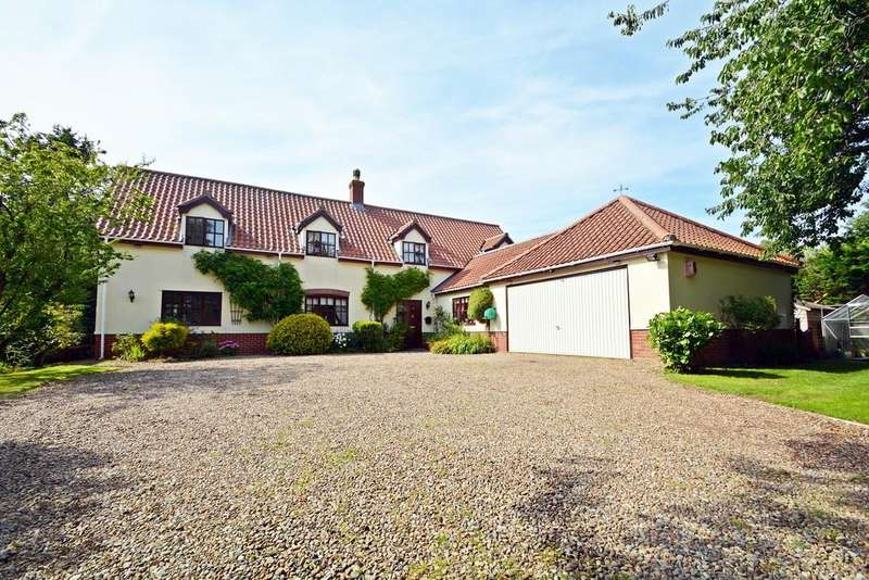 5 Bedrooms Detached House for sale in Long Green, Wortham