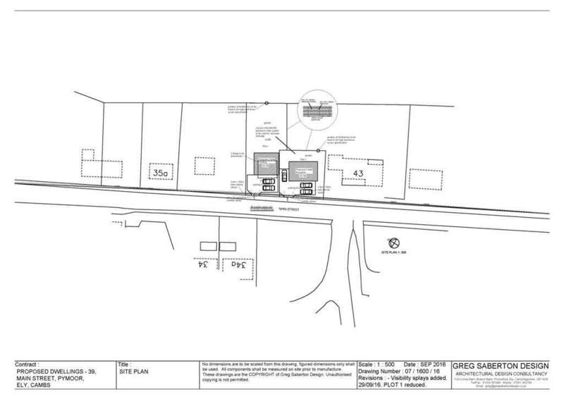 Land Commercial for sale in Main Street, Pymoor