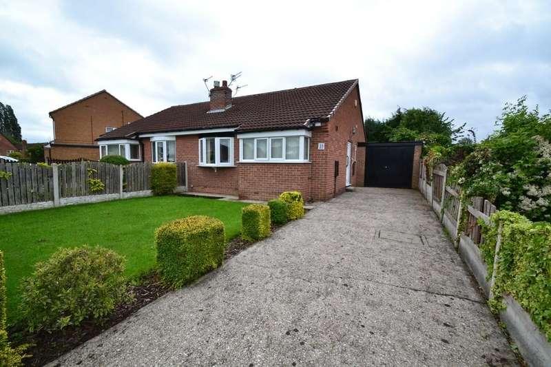 2 Bedrooms Semi Detached Bungalow for sale in Ings Walk, South Kirkby, Pontefract
