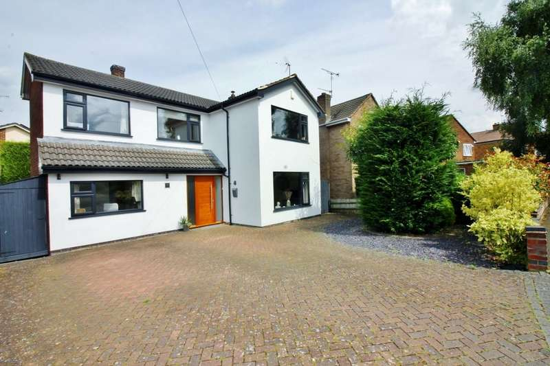 3 Bedrooms Detached House for sale in Sunningdale Avenue, Kenilworth, CV8