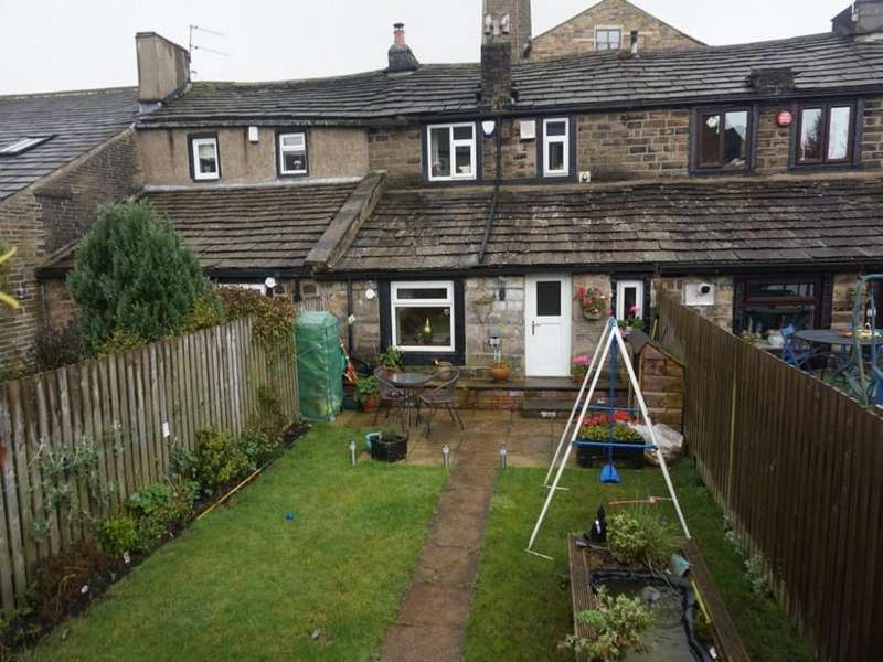 2 Bedrooms Cottage House for sale in Back Lane, Queensbury