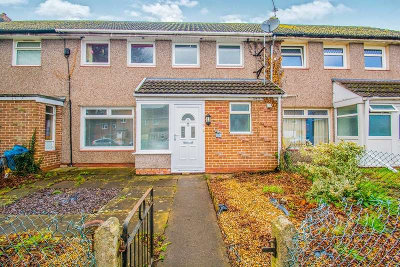 3 Bedrooms Terraced House for sale in Brangwyn Avenue, Llantarnam, Cwmbran