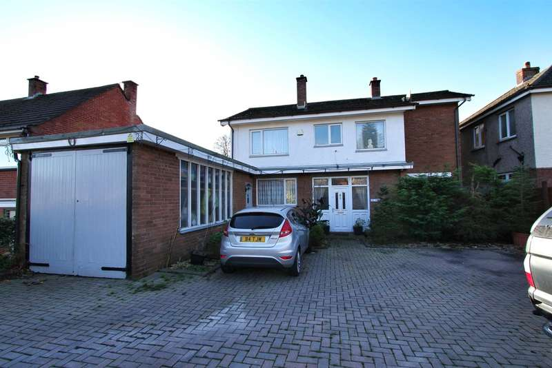 4 Bedrooms Detached House for sale in Western Avenue, Newport