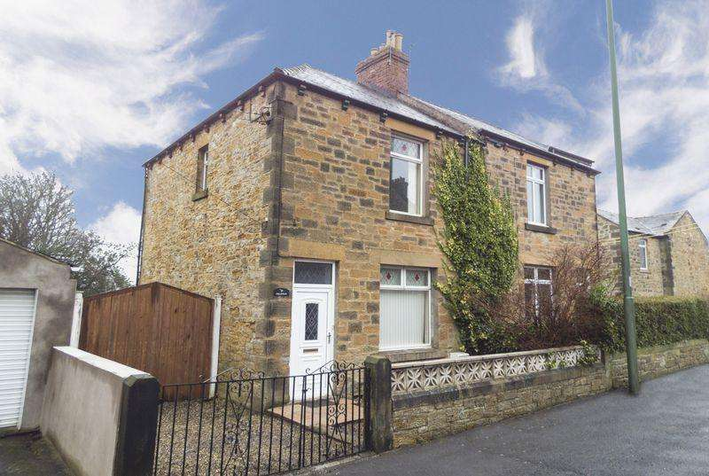 2 Bedrooms Semi Detached House for sale in Hare Law, Stanley, Co. Durham