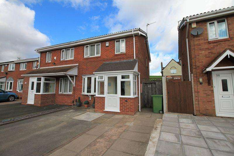 3 Bedrooms Semi Detached House for sale in Pebworth Grove, Dudley, DY1 3BQ