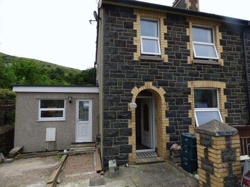 2 Bedrooms Semi Detached House for sale in Berwyn Villa, Valley Road, Llanfairfechan LL33 0SW