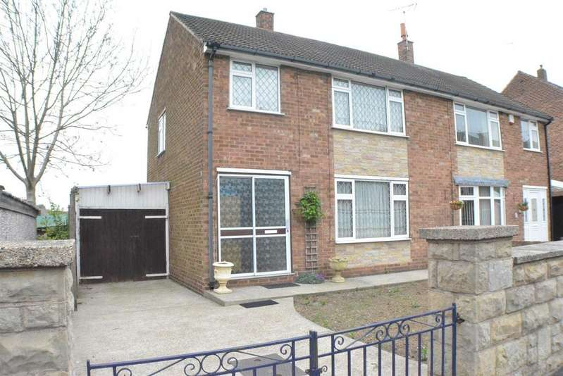 3 Bedrooms Semi Detached House for sale in Newport Crescent, Mansfield
