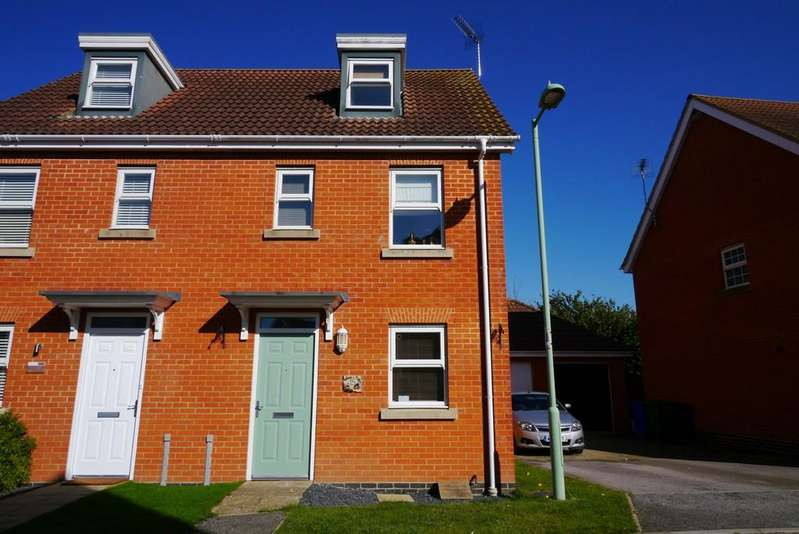 3 Bedrooms Semi Detached House for sale in Killick Crescent, Carlton Colville, Lowestoft