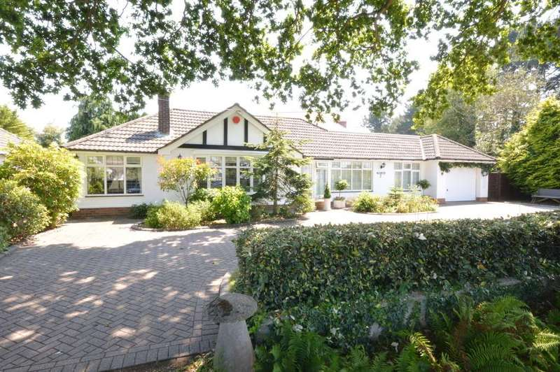 3 Bedrooms Detached Bungalow for sale in Green Lane, Barton on Sea