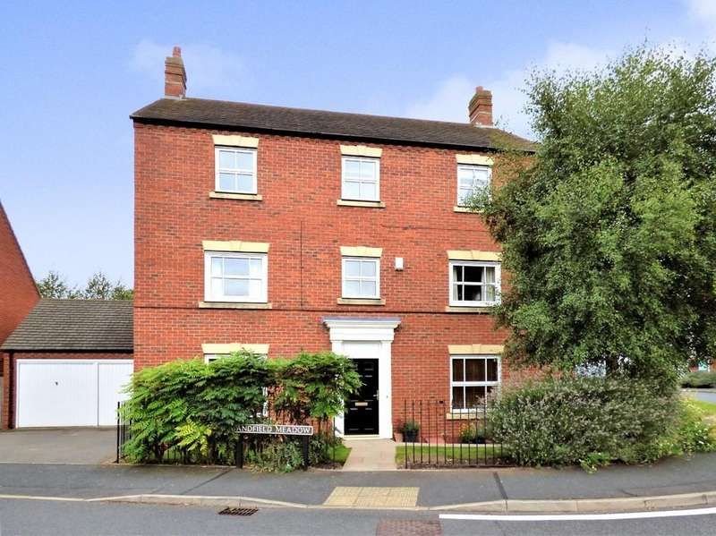 5 Bedrooms Detached House for sale in Sandfield Meadow, Lichfield