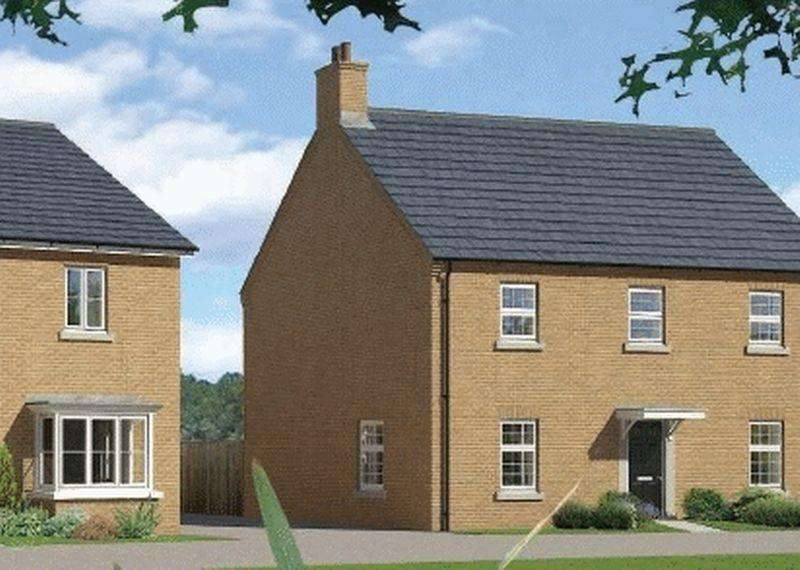 4 Bedrooms Detached House for sale in Plot 54, The Kingham at Downsview Park in Wantage