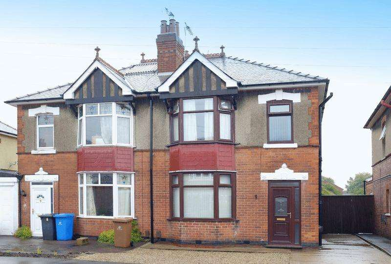 3 Bedrooms Semi Detached House for sale in LINDON DRIVE, ALVASTON