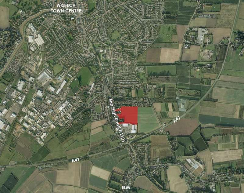 Land Commercial for sale in Elm High Road Wisbech