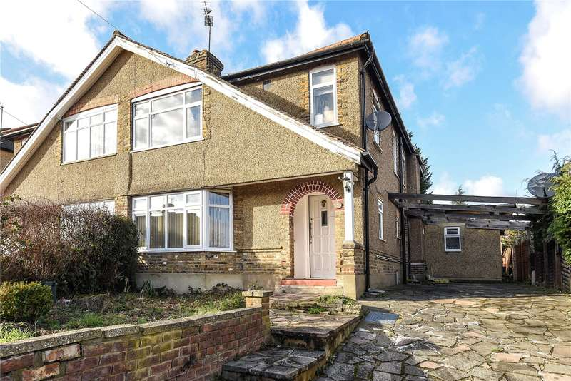 4 Bedrooms Semi Detached House for sale in Hill Lane, Ruislip, Middlesex, HA4
